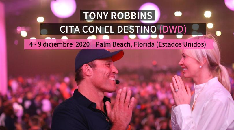 Tony Robbins Date with Destiny Cita con el Destino 2020 en español virtual