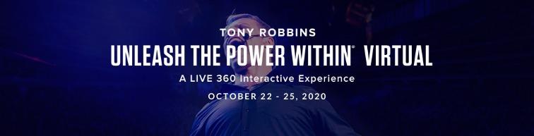 Tony Robbins UPW VIRTUAL 2020
