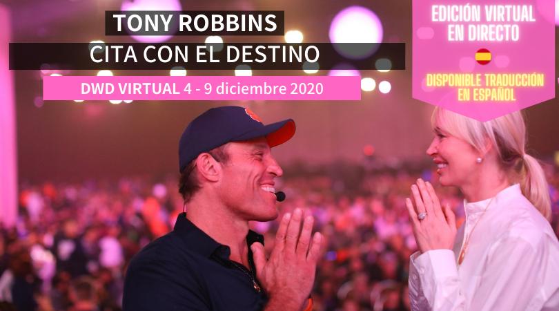 Tony Robbins curso virtual en español