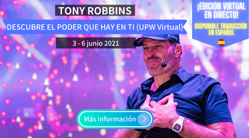 Tony Robbins en español curso virtual 2021
