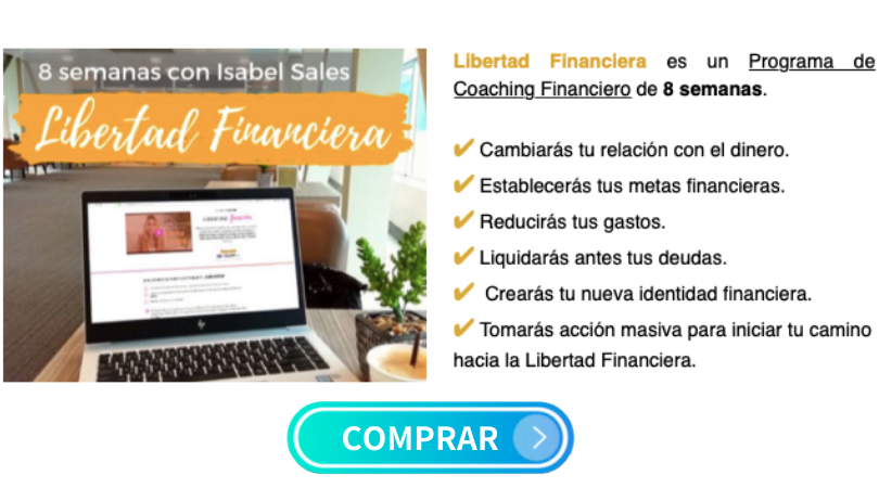 Curso de coaching online Libertad Financiera