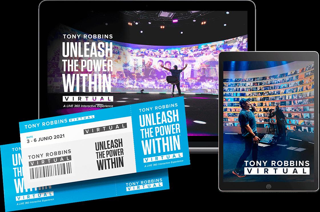 Tony Robbins español curso virtual