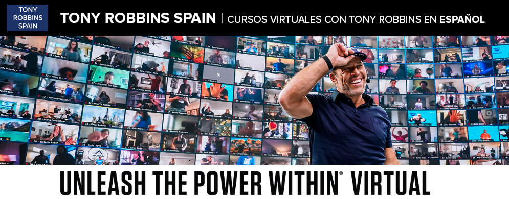 Tony Robbins curso virtual en español