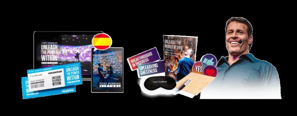Tony Robbins en español curso virtual