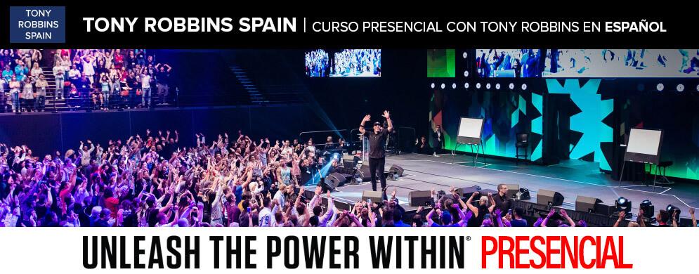 Tony Robbins curso presencial en español
