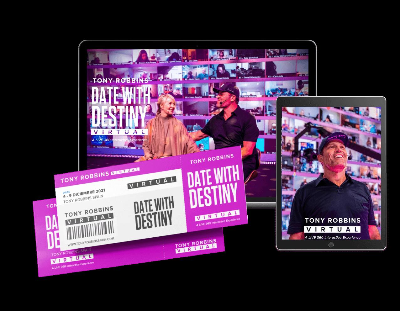 Date with Destiny en español Tony Robbins