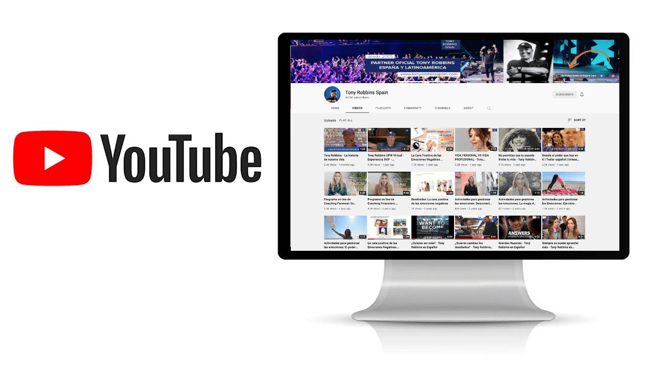 Tony Robbins videos Youtube en español
