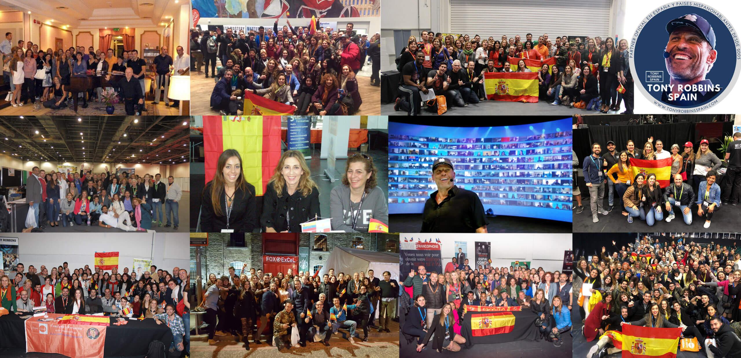 Tony Robbins Spain participantes